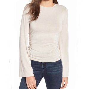 Nordstrom's - Leith Flare Sleeve Cinch Top
